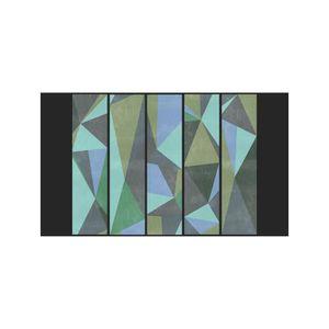 papier peint triangle achat vente papier peint. Black Bedroom Furniture Sets. Home Design Ideas