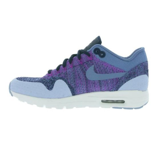 new styles 839f3 916e1 NIKE W Air Max 1 Ultra Flyknit Femmes Sneaker Violet 859517 400 Violet  Violet - Achat  Vente basket - Cdiscount