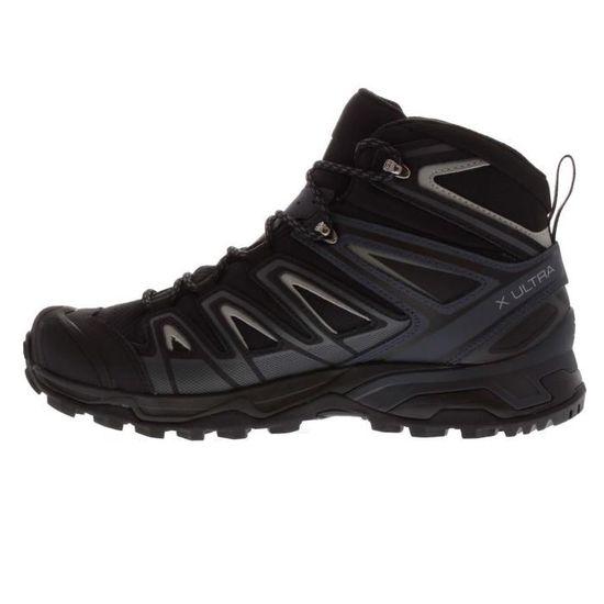 Salomon X Ultra 3 GTX Bottes De Marche Randonnées Montagne Hommes Noir