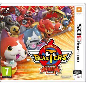 JEU 3DS Yo-Kai Watch Blasters : Peloton du chat rouge Jeu