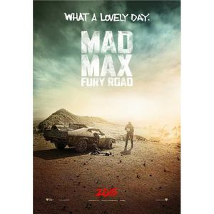 AFFICHE - POSTER Poster du film Mad Max: Fury Road (Dimensions : 28