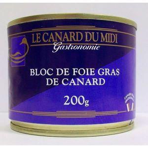 FOIE GRAS Lot de 2 Bloc de foie gras de canard du Sud Ouest