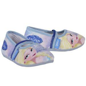 chaussons pantoufles elsa la reine des neiges taille 31 achat vente chausson pantoufle. Black Bedroom Furniture Sets. Home Design Ideas
