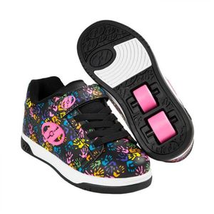 Heelys chaussure à roulette x2 dual up 100024 violet puzzle phCkUW