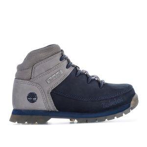 BOTTINE Boots Timberland Euro Sprint pour garçon en bleu m
