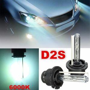 PHARES - OPTIQUES 2Pcs 12V 35W D2S Xénon HID Phare Lampe Ampoule Hea
