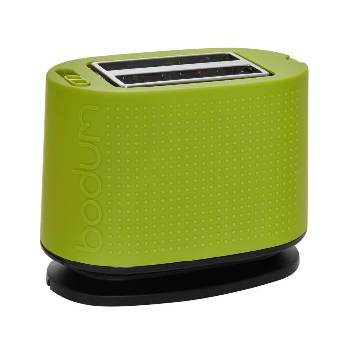 grille pain bistro de bodum 2 en vert lime achat vente grille pain toaster cdiscount. Black Bedroom Furniture Sets. Home Design Ideas