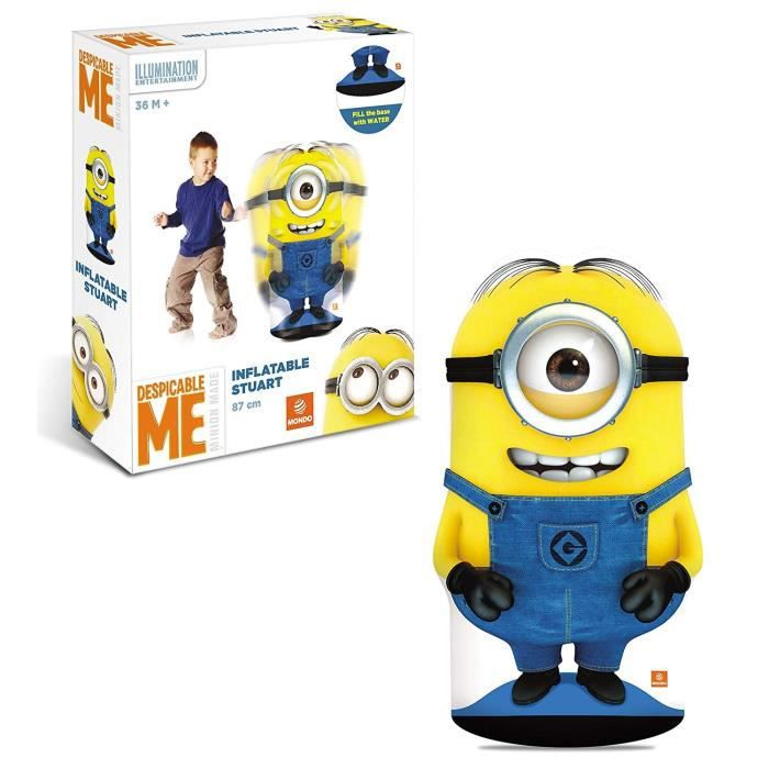 les minions punching ball gonflable achat vente sac de frappe cdiscount. Black Bedroom Furniture Sets. Home Design Ideas