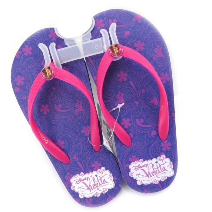 "Tongs ""Violetta"" violet rose"
