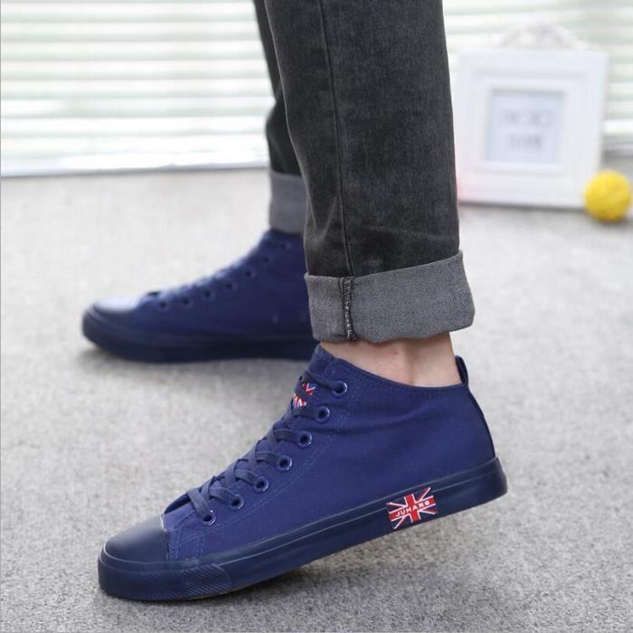 Mode Cor enne Loisirs High Top Sneakers Men