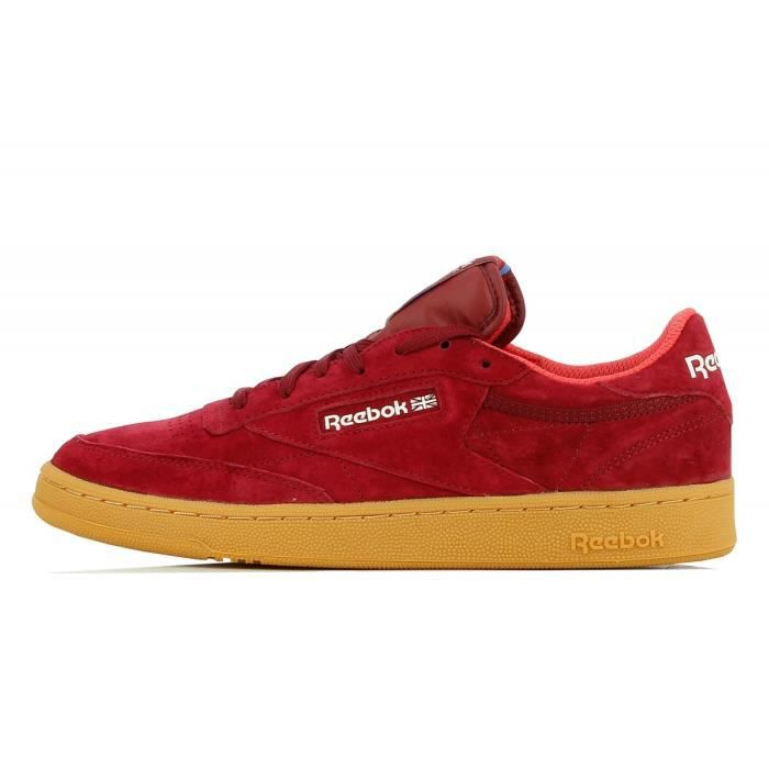 chaussure reebok classic club c 85 rouge