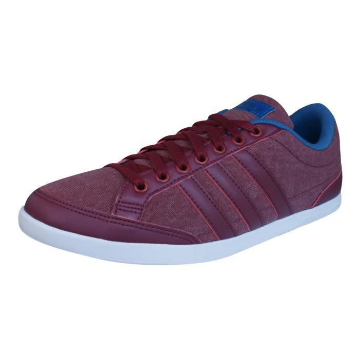 Baskets Hommes Chaussures Rouge Adidas Neo Caflaire hQCstrd