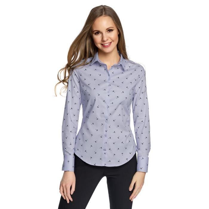 T-SHIRT Basic Cotton T-shirt de la femme 1LM54J Taille-32