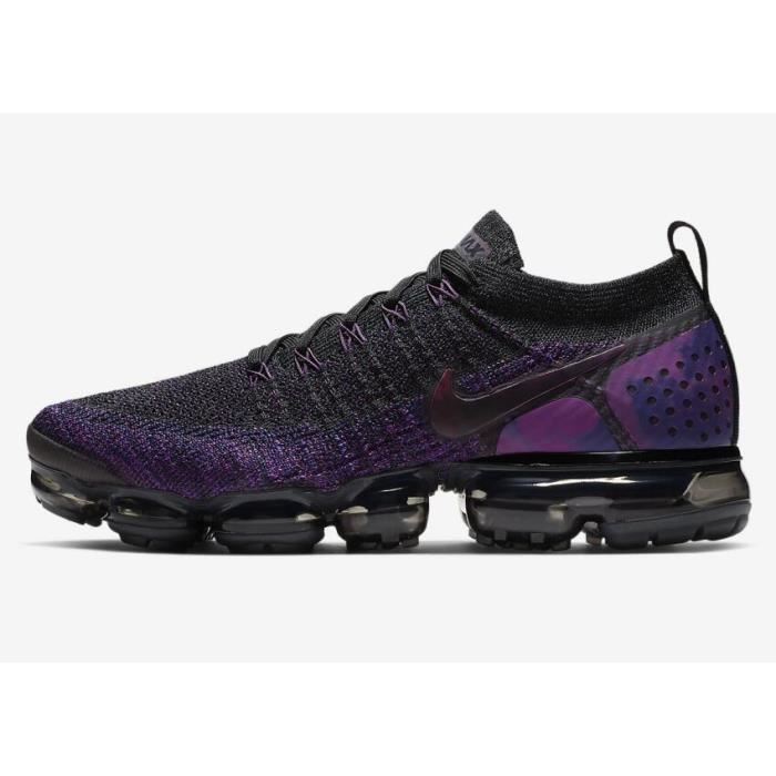 outlet store debfe 2b7f4 Nike Air Vapormax Flyknit 2 Chaussures de Running Pour Gris Violet