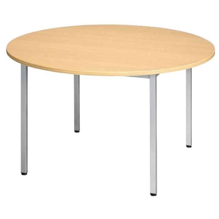 table ronde bureau achat vente table ronde bureau pas cher cdiscount. Black Bedroom Furniture Sets. Home Design Ideas