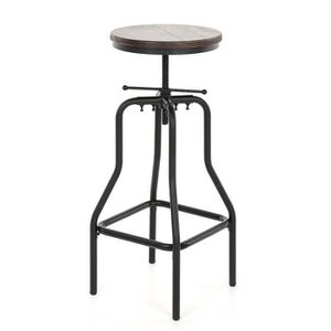 chaise haute industriel achat vente chaise haute industriel pas cher cdiscount. Black Bedroom Furniture Sets. Home Design Ideas