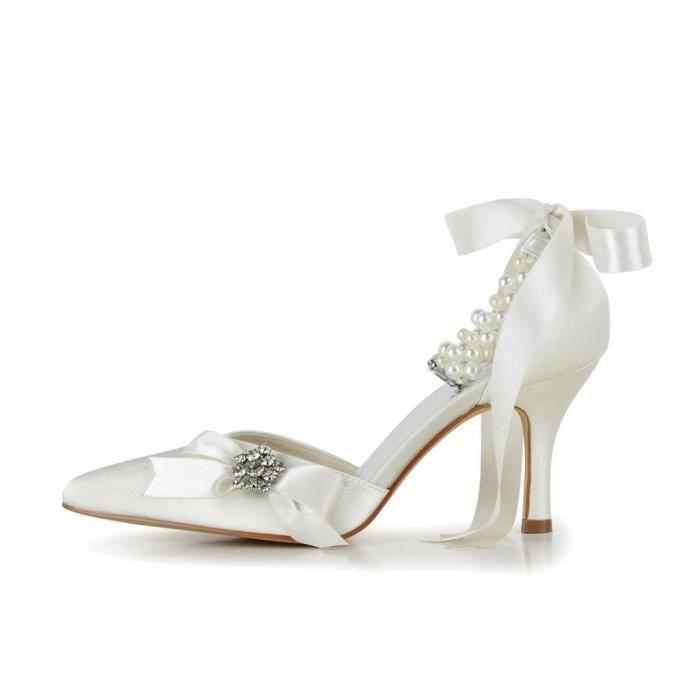 Jia Jia Wedding A313A chaussures de mariée mariage Escarpins pour femme zFaRGM