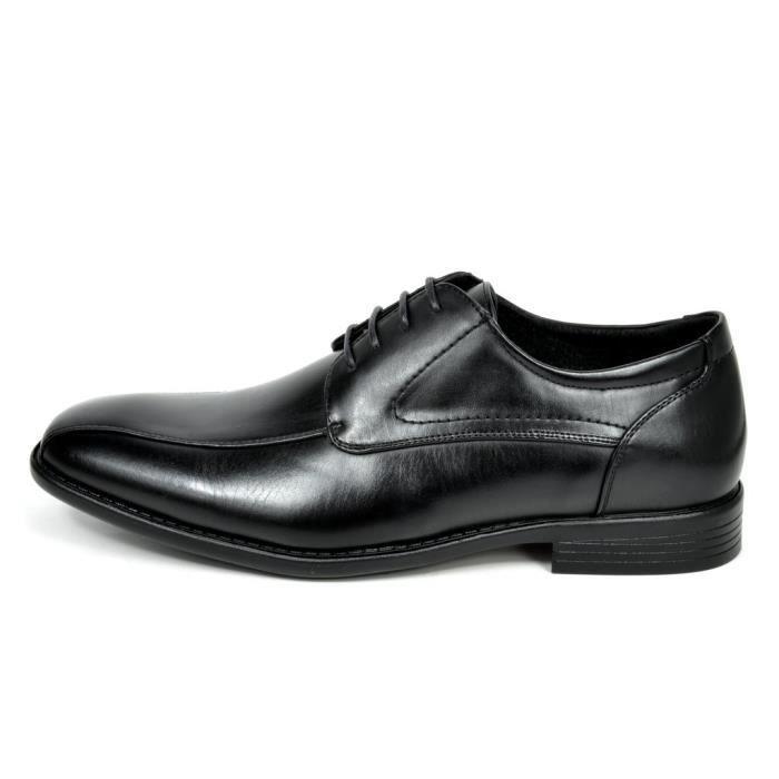 Bruno Marc Dp formel moderne classique lacées en cuir doublé Oxford Robe Chaussures E29EH Taille-43 jm8fNtP