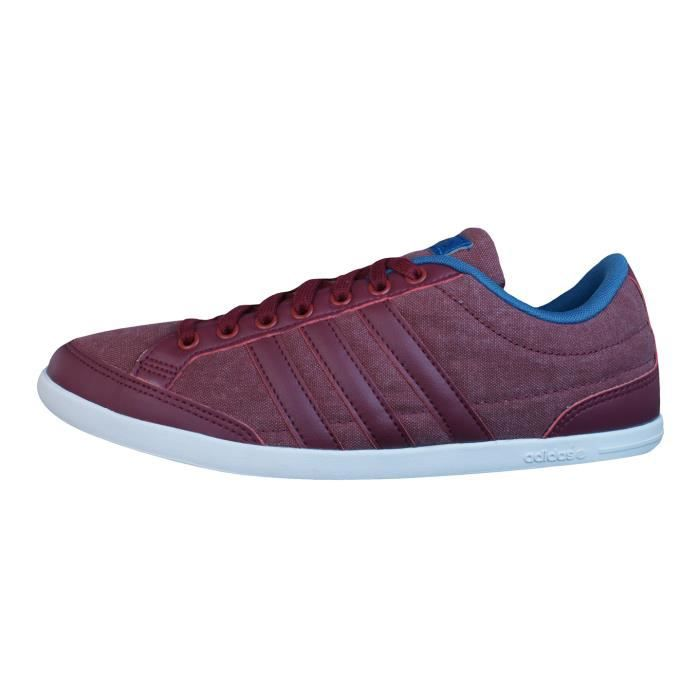 adidas Neo Caflaire Baskets hommes - Chaussures Rouge lYu4JxmtMh