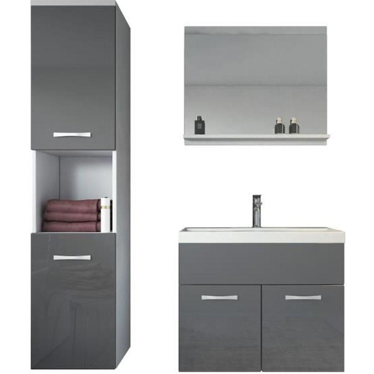 Meuble de salle de bain de Montréal Armoire de rangement Meuble
