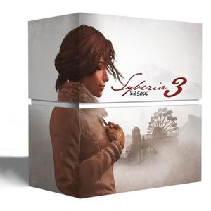 JEU XBOX ONE Syberia 3  Edition Collector Jeu Xbox One