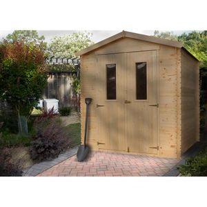 ABRI JARDIN - CHALET M371C ABRI de jardin en bois Exterieur - Chalet en
