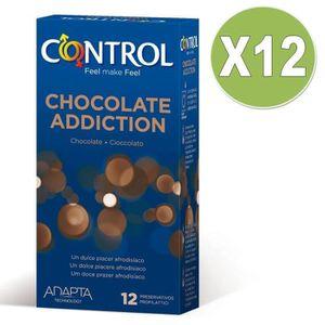 PRÉSERVATIF préservatifs lubrifiés avec du chocolat aromatisé
