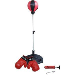 SAC DE FRAPPE Miles 18762 Set de punching-ball avec gants 10 oz