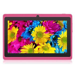 TABLETTE ENFANT Rose Tablette tactile 7 pouces 8Go