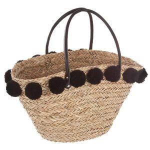 panier en osier noir achat vente panier en osier noir pas cher soldes d s le 10 janvier. Black Bedroom Furniture Sets. Home Design Ideas