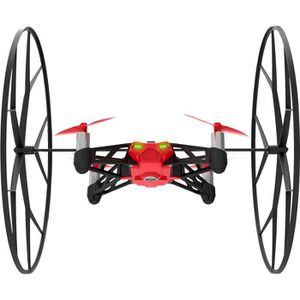 DRONE Parrot MiniDrones Rolling Spider Rouge Drone Conne