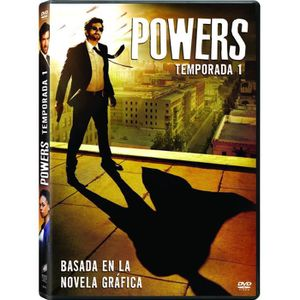 DVD FILM POWERS: TEMPORADA 1 (Importé d'Espagne, langues su