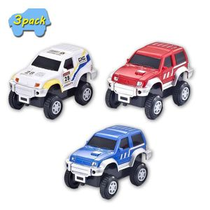 ARDOISE ENFANT VINSOO Track Cars (Pack de 3) Voiture de circuit T