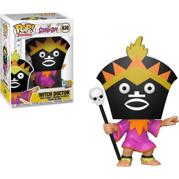 Figurine Funko Pop! Animation: Scooby Doo - Witch Doctor (Médecin Sorcier)