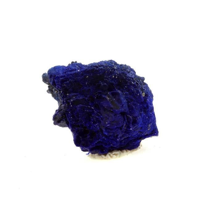 Pierre -Chessylite ( Azurite ). 36.45 ct. Chessy-les-Mines, Rhône, France. Rare