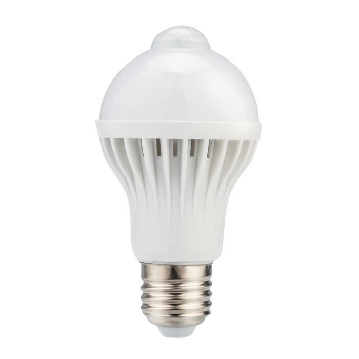 Infrarouge De D'ampoule Lampe Mouvement 3683 D'économie Capteur Led Automatique Pir E27 D'énergie nxwAqYa