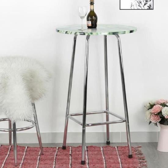 MANGE-DEBOUT Table de Bar Table Haute Table de Bistro Table de