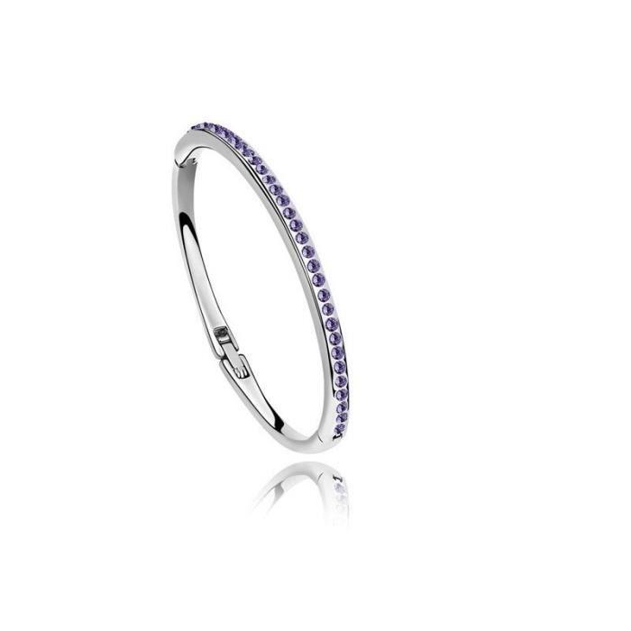 Bracelet élégant modèle classique en Cristal Sw...