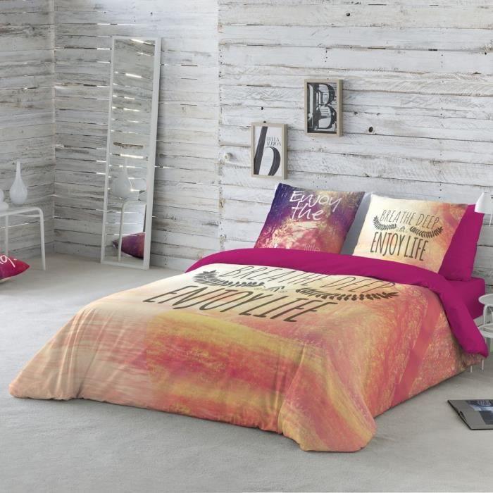 HOUSSE DE COUETTE SEULE Linge De Lit Enjoy Coton Blancheporte
