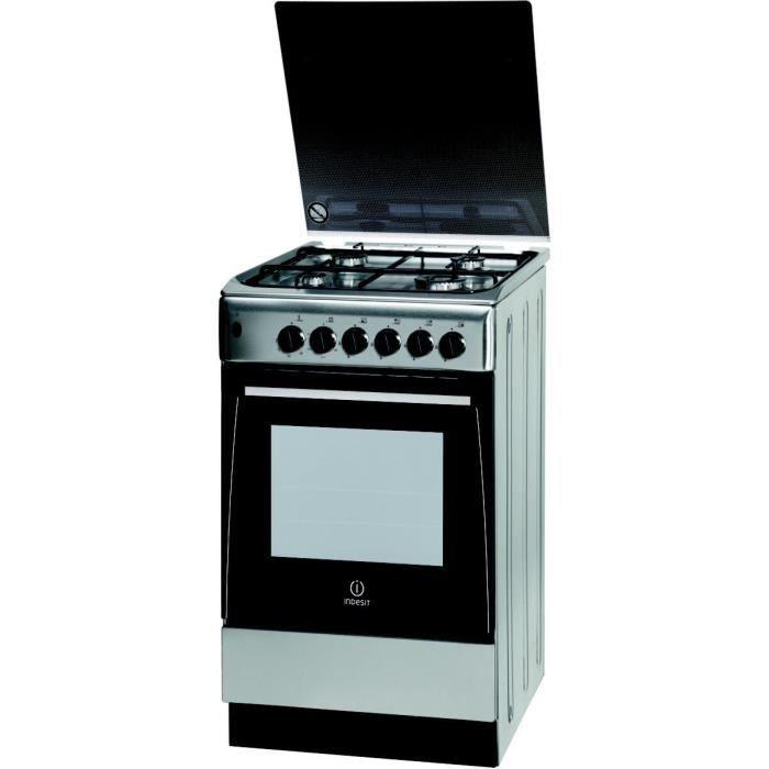 Cuisinière gaz INDESIT EI5GSCAE(X)-FR - Achat / Vente cuisinière ...