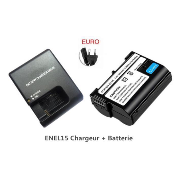 chargeur batterie en-el15