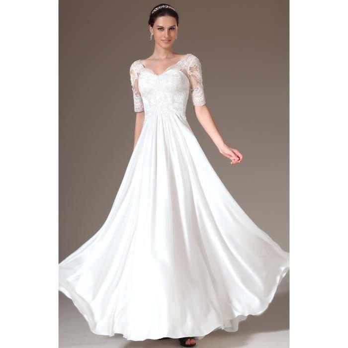 robe femme longue du plancher demoiselle d honneur m re de. Black Bedroom Furniture Sets. Home Design Ideas