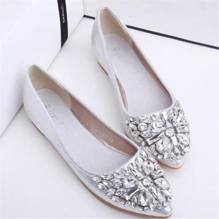 Moccasins Femme Meilleure Qualité Nouvelle arrivee Moccasin De Marque De Luxe plates chaussures Grande Taille 35-40