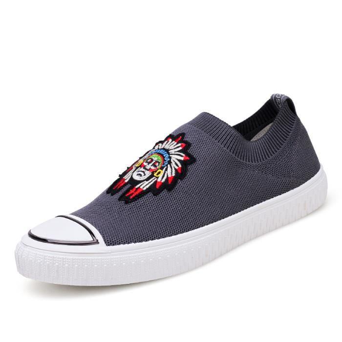 SLIP Nouvelle Mode sport Mocassins ON Chaussures Homme de pour Basses 6aAq8RnA