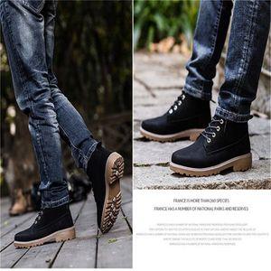 Bottine Femme hiver Casual peluche boots BZH-XZ003Gris-44 TJx89X