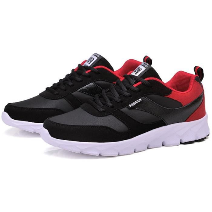 Chaussure homme sneakers chaussure homme sport noir 87UOdaB