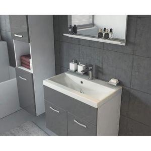 vasque de lavabo 60 cm achat vente pas cher. Black Bedroom Furniture Sets. Home Design Ideas