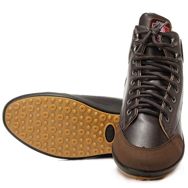 Hommes CasualChaussures Cuir Lacets hiver chaud nrtb4AMshh