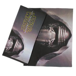 FINLANDEK Parure de couette Star Wars - 1 Housse de couette 140 x 200 cm + 2 Taies d'oreillers 63 x 63 cm