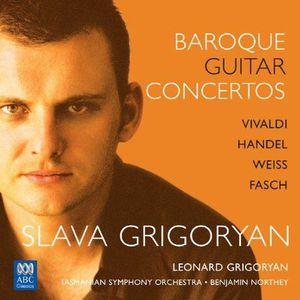 CD MUSIQUE CLASSIQUE Concertos baroques pour guitare